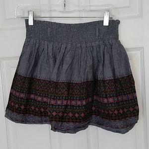 Size Small American Rag Short Pleated Skirt